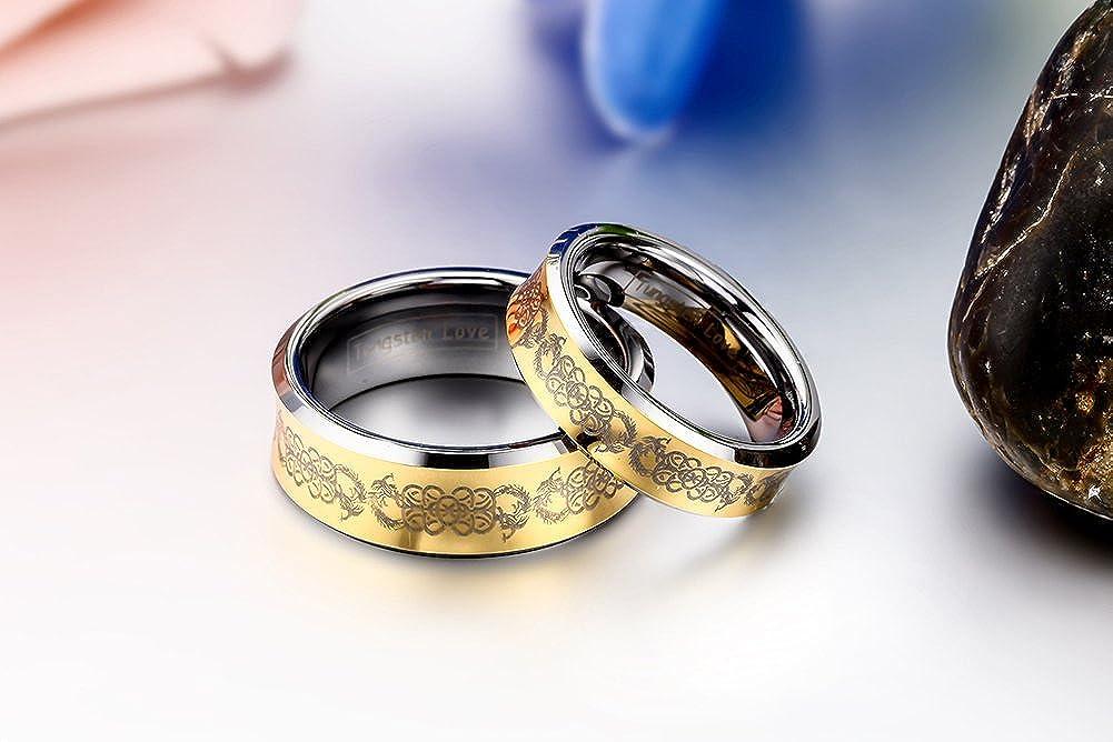 JewelryWe Mujer tungsteno: Amazon.es: Joyería