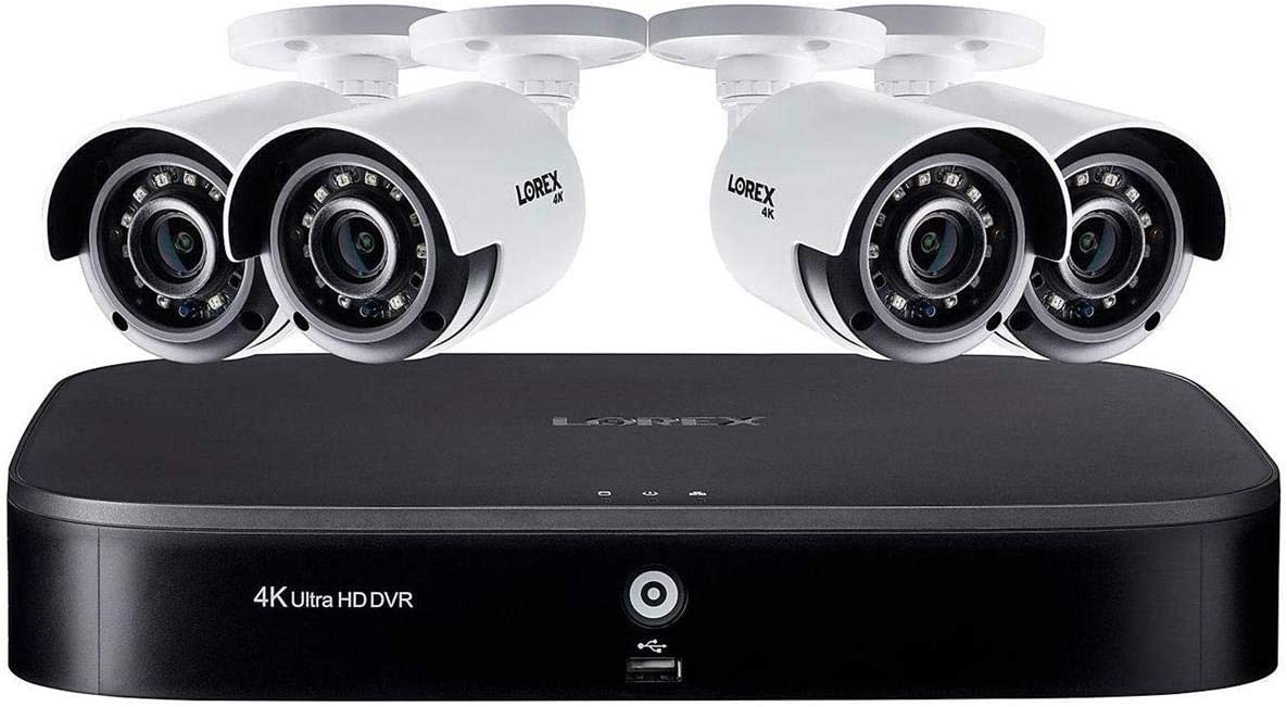 4K Ultra HD 8-Channel Security System