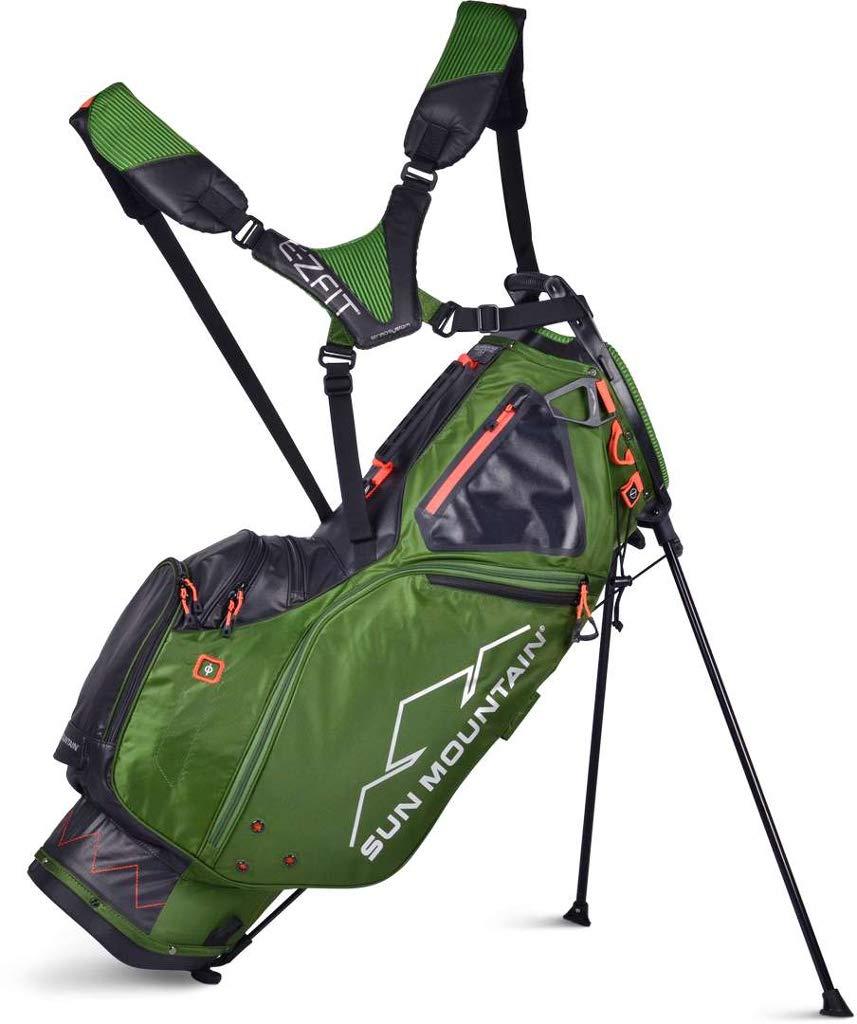 Sun Mountain Golf 2019 4.5 LS 14-Way Stand Bag (Green|Black) by Sun Mountain