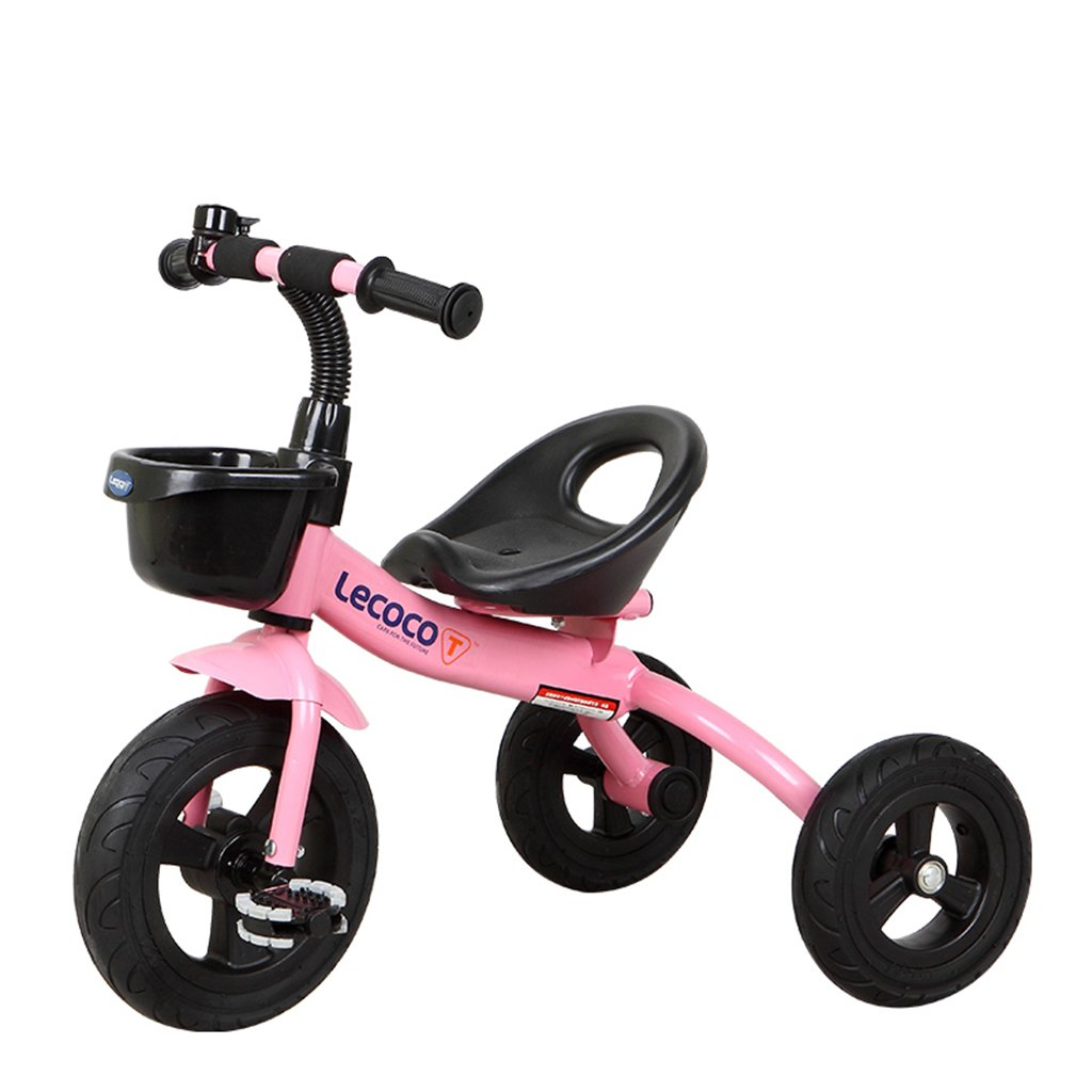 XQ 子供用三輪車自転車ベビーカー 子ども用自転車 ( 色 : ピンク ぴんく ) B07CGCPLV1ピンク ぴんく