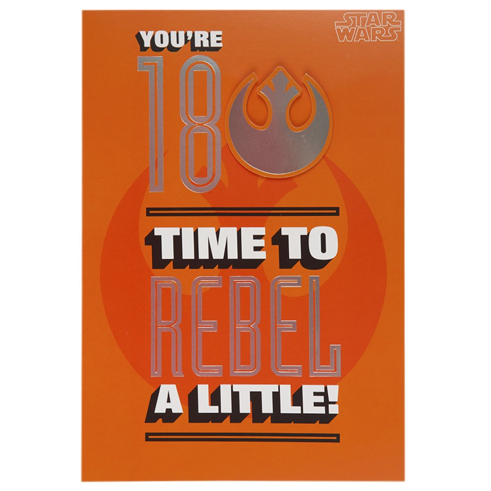 Amazon.com: Hallmark star wars Rebels Tarjeta de 18 ...