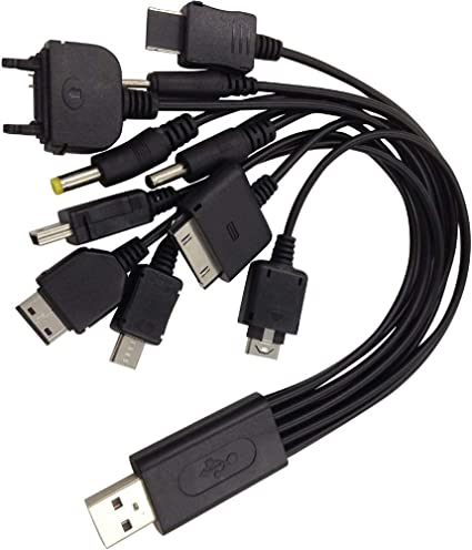 Amazon.com: Sudroid Universal 10 en 1 multifunción Cable Fit ...
