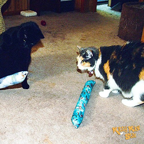 15'' Original Kitty Kick Stix Catnip Kicker (Set of 2) (Mystery) by Original KittyKickStix (Image #3)