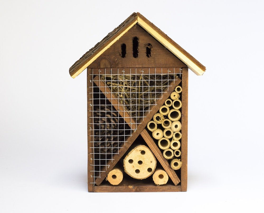 Wooden Garden Insect Hotel / House. Nest.