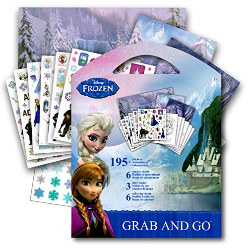 Disney Studios Frozen Stickers Activity Coloring Book ~ Elsa, Anna, Olaf, and Kristoff]()