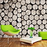 ZLJTYN 270cmX180cm Realistic Wood Panel Wallpaper Retro Wall Paper Wood Wallpaper Roll Modern Style