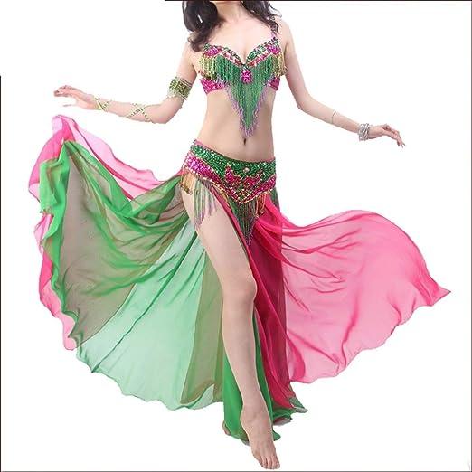 Qichengdian Falda de Danza del Vientre para Mujer Mujeres Sexy ...