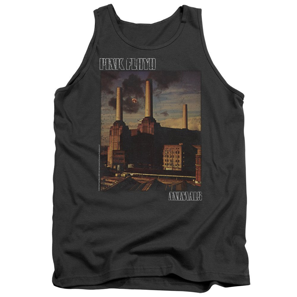 Pink Floyd Faded Animals Adult Tank Top