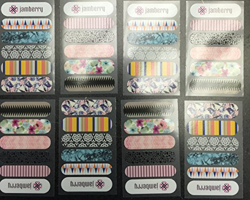 Jamberry Assorted Accent sheets Spring product image