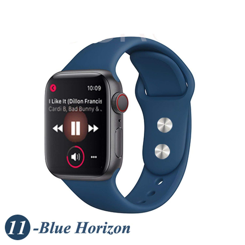 Amazon.com: Strap for Watch Band Silicone Sport Correa 4 ...