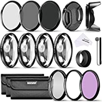 Neewer® 52MM Complete Lens Filter Accessory Kit