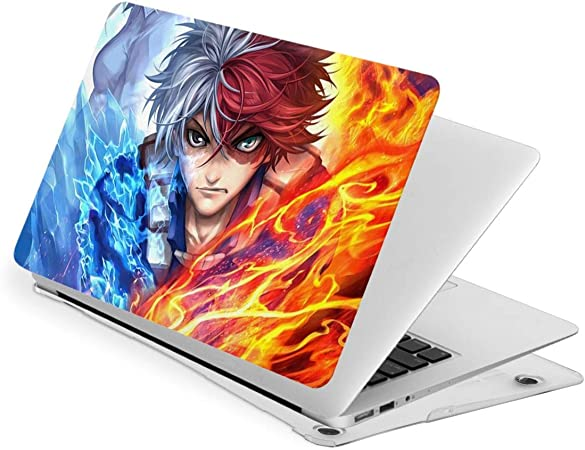 Shoto Todoroki My Hero Academia Air 13 Inch Case Laptop Cover Protective Case for Air 13 Model New Air13