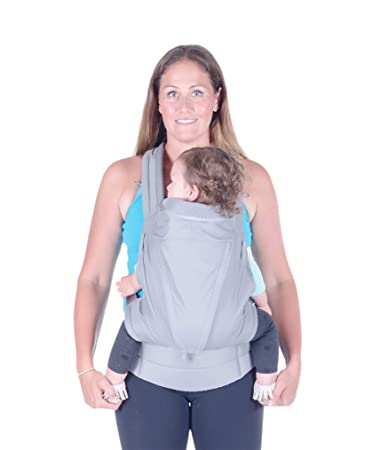 Onya Baby Pure Ergonomic Front and Back Infant to Toddler Carrier – Granite