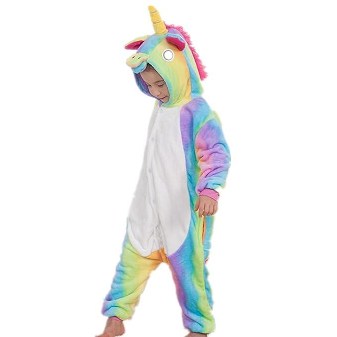 Misslight pijama o disfraz de unicornio unisex para niñ ...