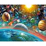 #5: 5D DIY Diamond Embroidery Outer Space Landscape Diamond Painting Cross Stitch Full Rhinestone Mosaic Decoration
