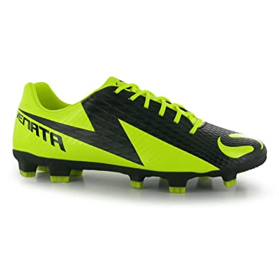 be5c9cc8a2d Sondico Mens Venata FG Football Boots Trainers With Studs Sport Shoes Soccer  Black Yellow UK 10 (44)  Amazon.co.uk  Clothing