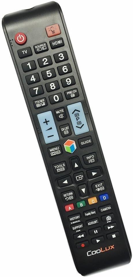 Mando a Distancia Universal para Todos los Samsung LCD LED HDTV 3D Smart TV: Amazon.es: Electrónica