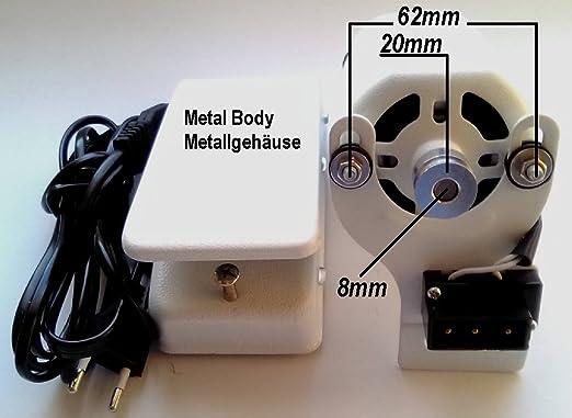 Motor para máquina de coser de 250 W – 50/60 Hz – 220 – 240 V ...