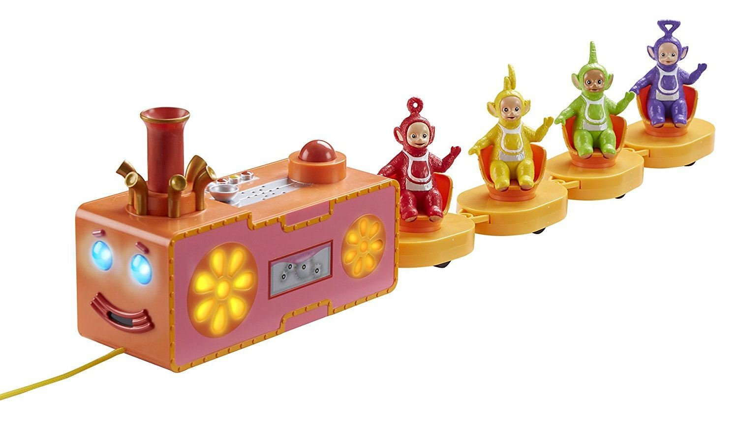 Teletubbies Pull-Along Custard Ride Playset Sound & Light Effects Brand New HST