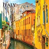 Italy 2020 7 x 7 Inch Monthly Mini Wall Calendar, Scenic Travel Europe Italian Venice Rome