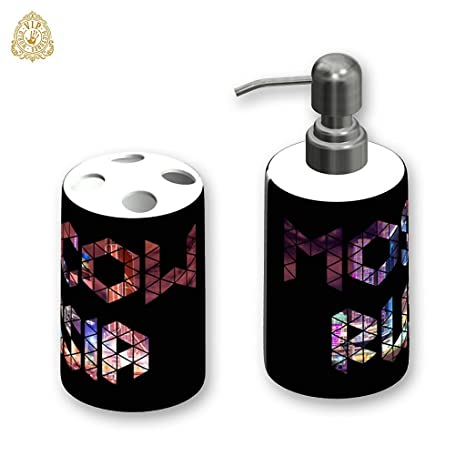 """Dispensador de jabón personalizado/Porta cepillo de dientes, , Diseño """" MOSCÚ"""""""