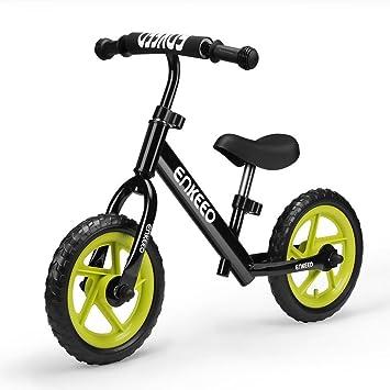 Enkeeo 12 No Pedal Balance Bike For 2 6years Old Kids