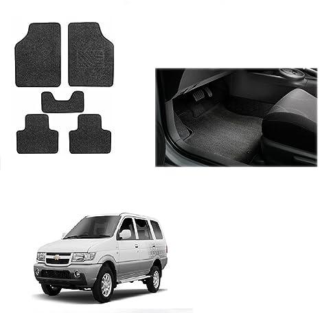 Autonity Carpet Floorfoot Mats Set Of 5 Black For Chevrolet Tavera