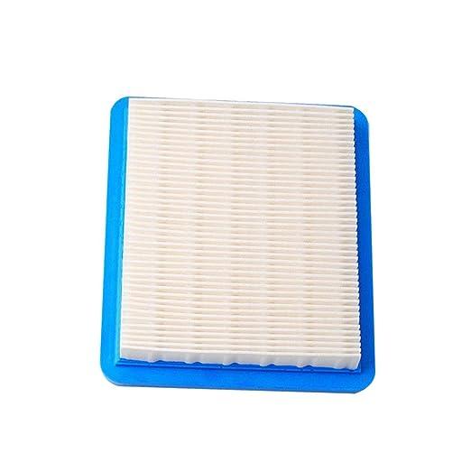Alaojie - 10 Piezas de Repuesto de Filtro de Aire para cortacésped ...