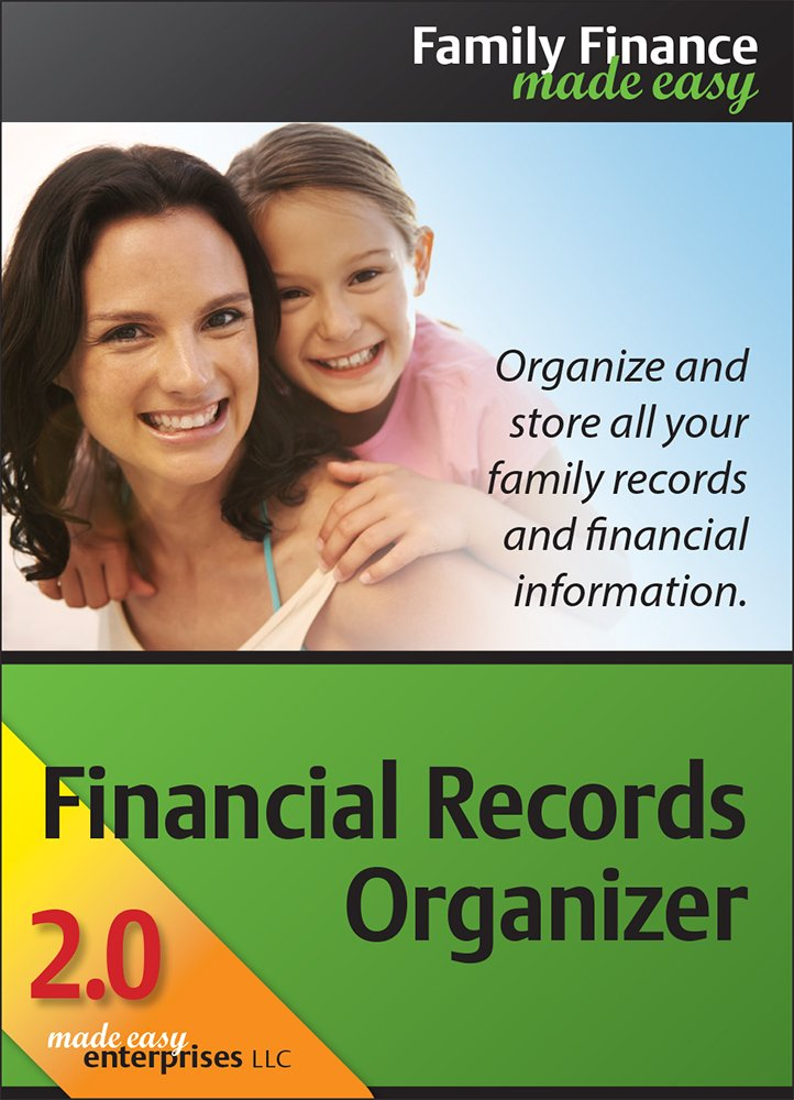 Financial Records Organizer 2.0 Deluxe for Mac [Download] by Made Easy Enterprises LLC