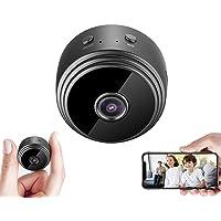 A9 Mini cámara espía WiFi HD 1080P cámara oculta inalámbrica, vigilancia de seguridad para el hogar, videocámara niñera…