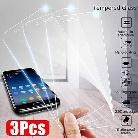 Wwjwf 3 1 Piezas De Vidrio Protector, para Samsung Galaxy A7 A8 ...