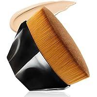 MOTYYA Foundation Makeup Brush Flat Top Kabuki Face Blush Liquid Powder Foundation Brush for Blending Liquid, Cream or…