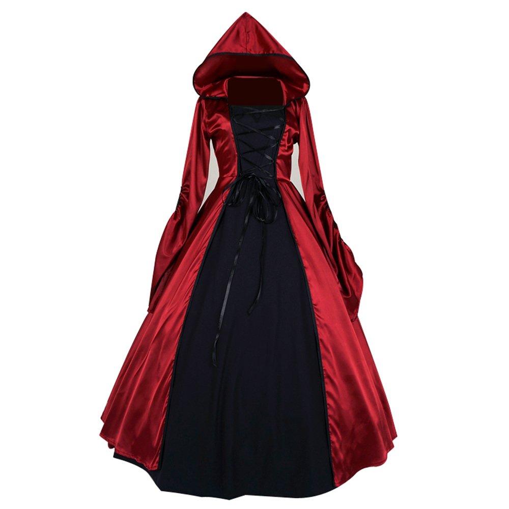 TOP-MAX Gothic Halloween Lolita Steampunk Victorian Ball Gown Fancy ...