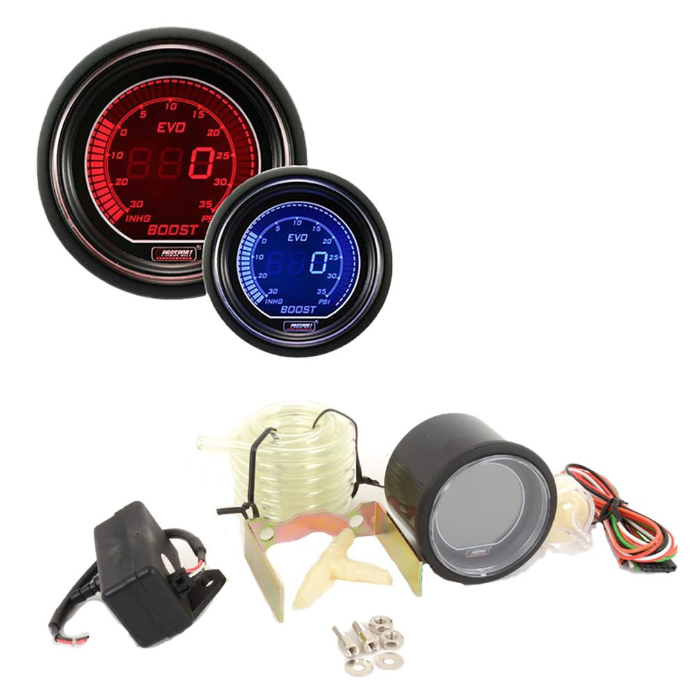 Superb Amazon Com Boost Gauge Electrical Red Blue Evo Series 52Mm 2 1 Wiring 101 Garnawise Assnl