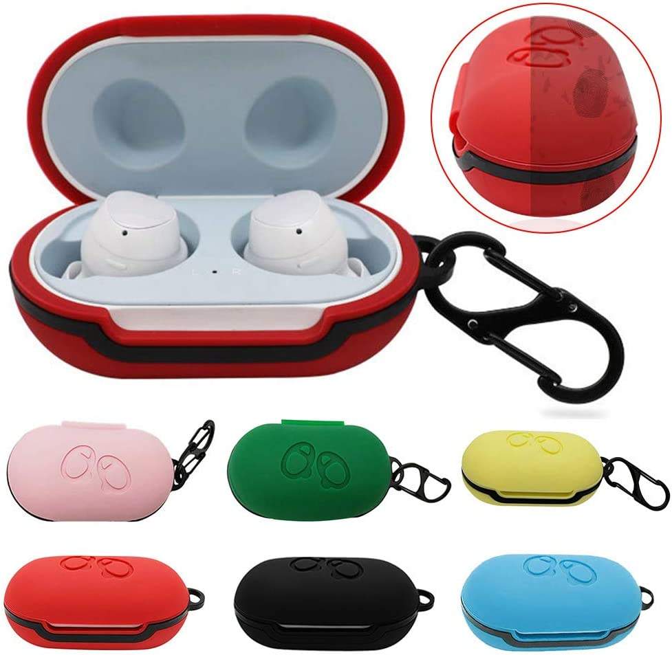 bDSof0u89yw Earphones Protective Case Silicone Anti-Fall Bluetooth Wireless Bluetooth Protective Case for Samsung Galaxy Buds Transparent