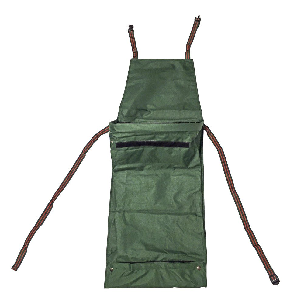 Spring Hill Nursery Gathering Apron - A Gardener's Best Friend! Features a Hands Free Basket - Convenient and a Snap to Use When Collecting Edibles, Trimmings, Weeds, and Plant Scraps.