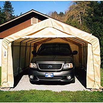 Amazon.com: Rhino Shelter Instant Garage House Style ...