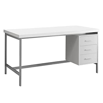 Monarch 60 In. Hollow Core Metal Office Desk