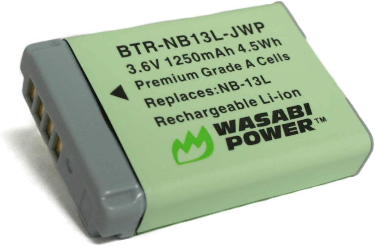 Batería Wasabi Para Canon NB-13L
