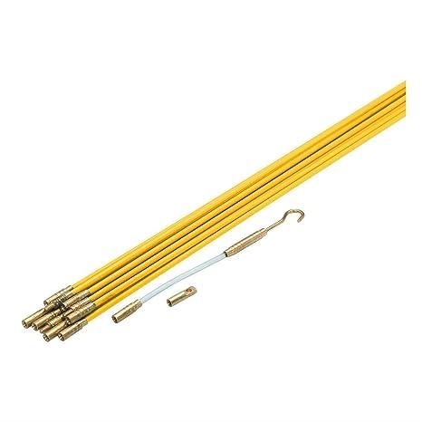 33 de fibra de vidrio Running alambre cable coaxial eléctrica cinta de