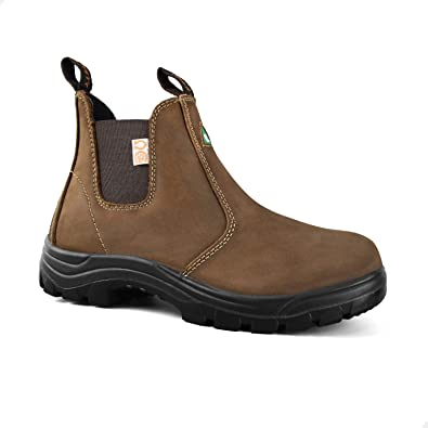 Tiger Safety Women's Leather Steel Toe