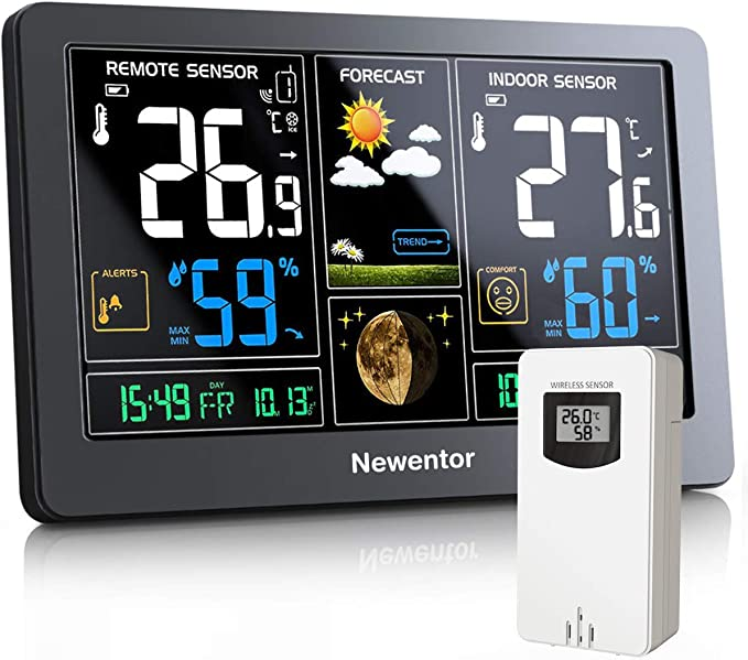 Newentor Weather Station - Best for Accuracy