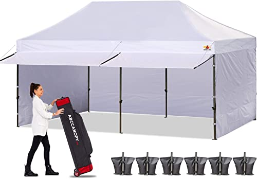ABCCANOPY Canopy Tent 10 x 20 Pop-up Instant Shelters Commercial Portable Market Canopie