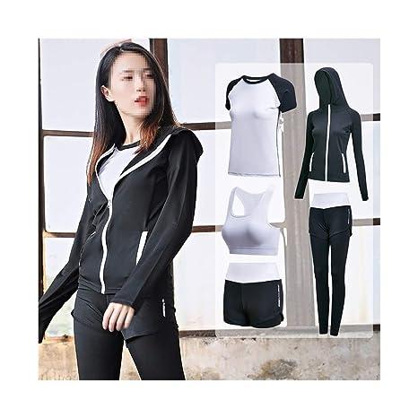 XYACM Traje de Yoga for Mujer Chándal de Mujer Pantalones ...