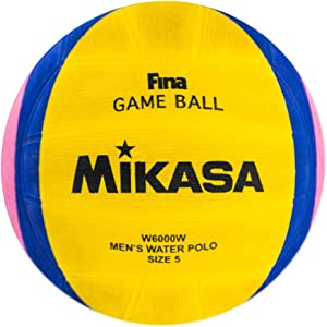 Mikasa 2012 London Olympic Water Polo Game Ball (Yellow/Blue/Pink, Size 5)