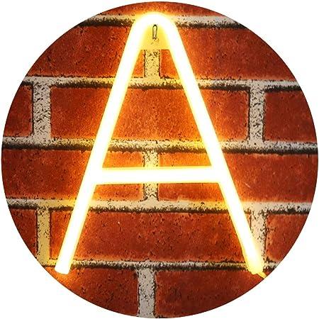 Amazon.com: Obrecis - Letra neón y amor 44: Home & Kitchen