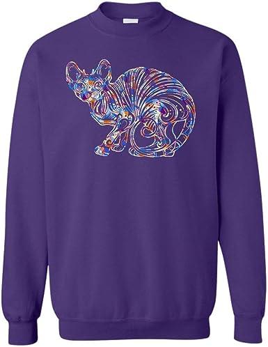 Sphynx Cat Tshirt Design Sphynx Cat Geometric T Shirt
