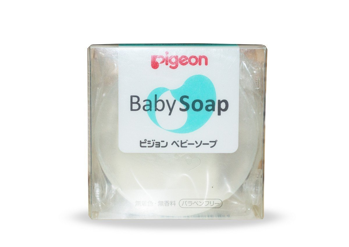 PIGEON Transparent Baby Soap Hypoallergenic - Made in Japan 08172 el-4902508081726