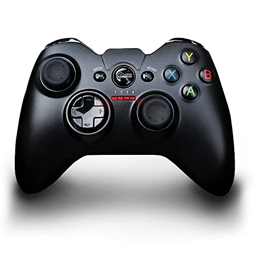Game Joypad Controller ,GooBang 2.4ghz Wireless Vibration-Feedback Gaming Joystick Handle Rechargeable Support Sony Playstation 3 Rumble ,PC(Windows XP7/8/8.1/10) ,Tablet ,PS3 & Android TV Box