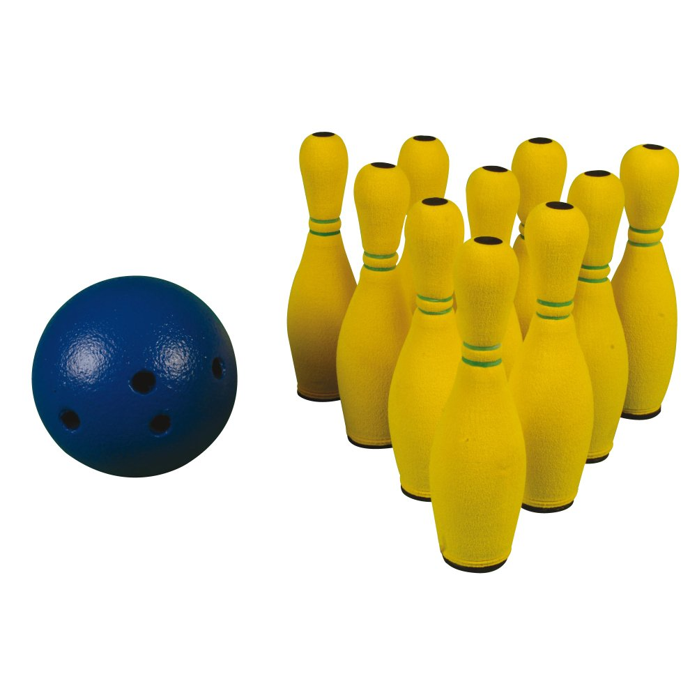 Kids Indoor Activity Lightweight Ten Pin Bowling Set by Sportsgear US